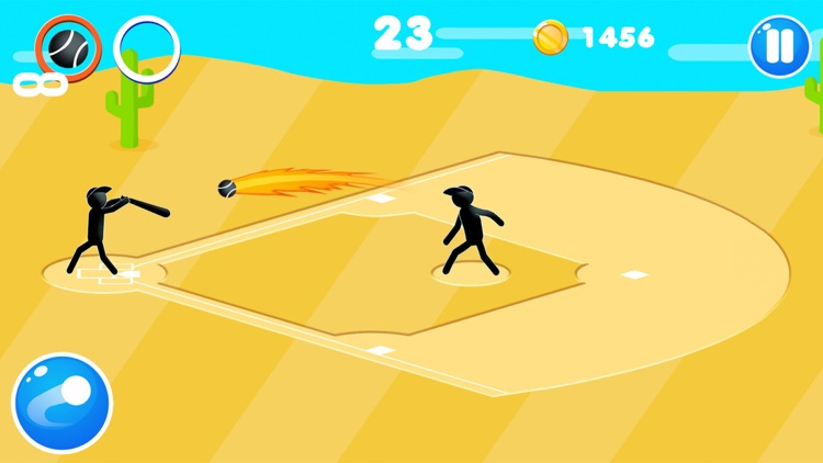 Stickman Baseball Star screenshot-6