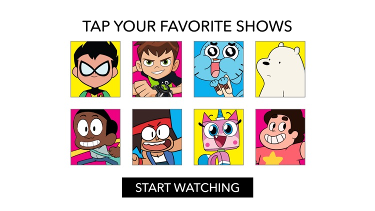 Cartoon Network App screenshot-0