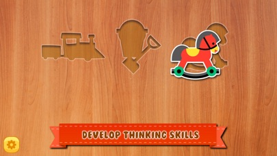 Baby Toy Shape Blocks Puzzle screenshot two