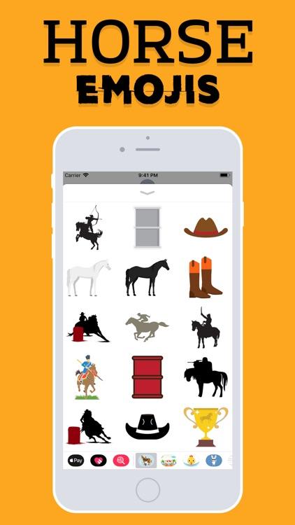 Horse Emojis screenshot-3