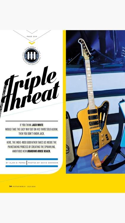 Guitar World Magazine screenshot-4