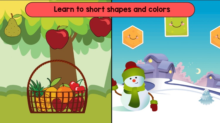 Shapes and colors learn games screenshot-3