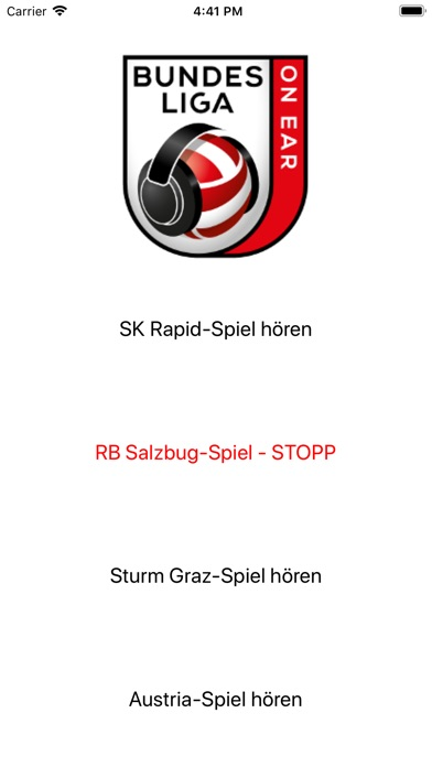 Image of Bundesliga ONEAR for iPhone