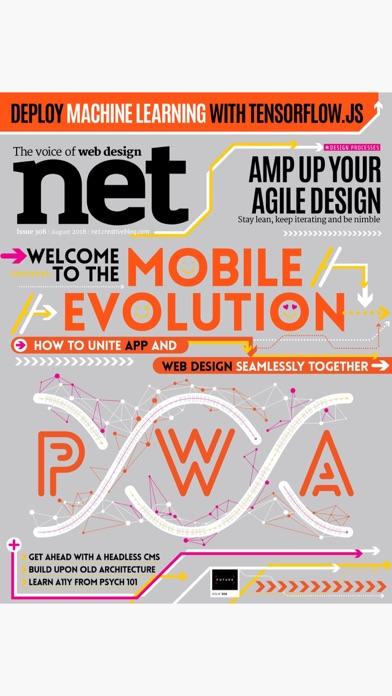 Net Magazine review screenshots