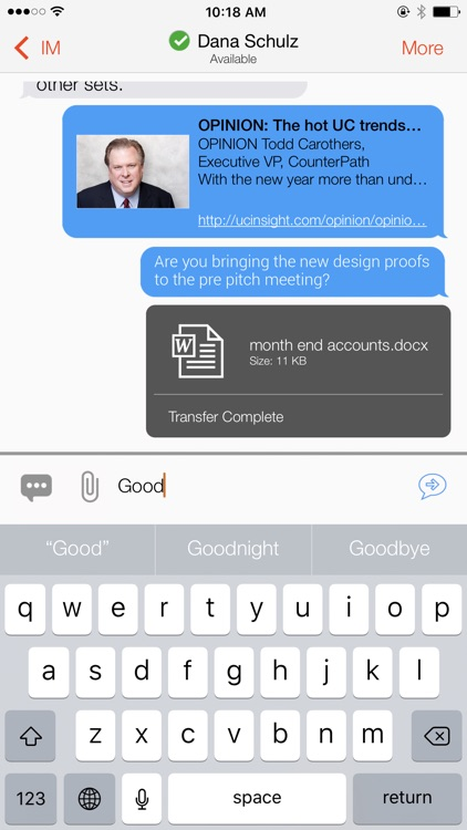 Bria Stretto - VoIP Softphone screenshot-6