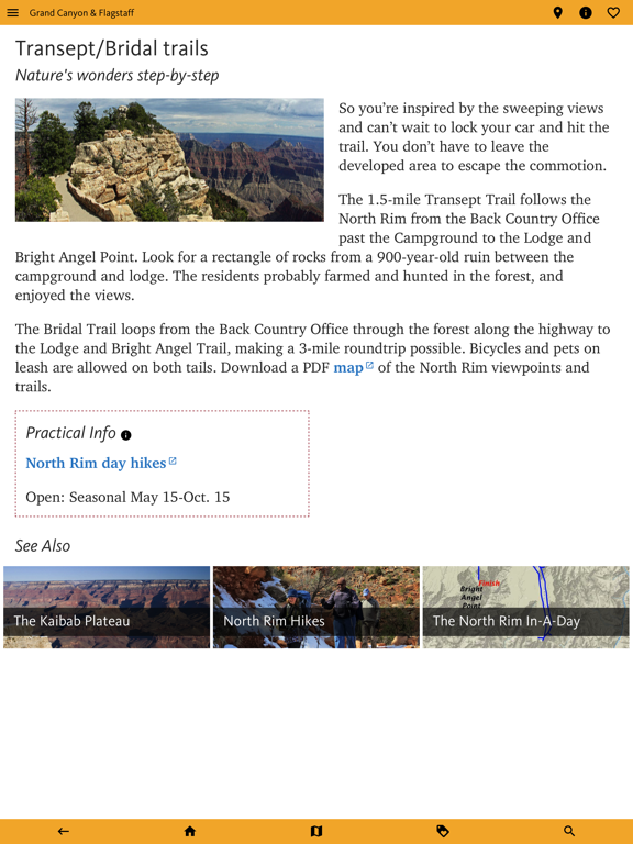 Grand Canyon & Flagstaff Guide screenshot 14