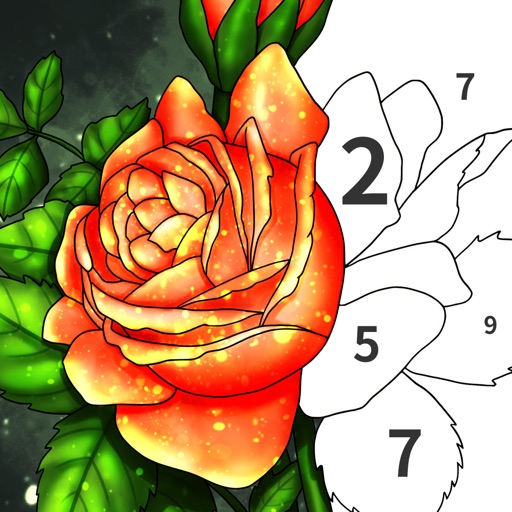 Art Number Coloring Book