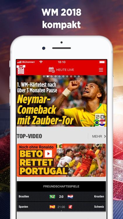 Sport BILD - WM 2018 News screenshot-0