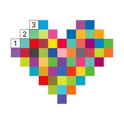 Pixel Art Recolor: Puzzle Game