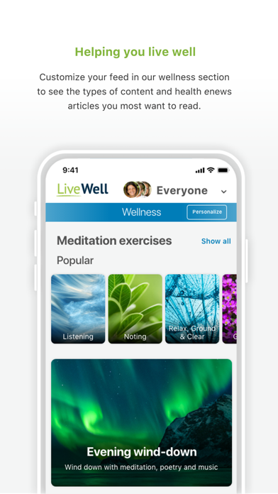 LiveWell with Advocate AuroraScreenshot of 4