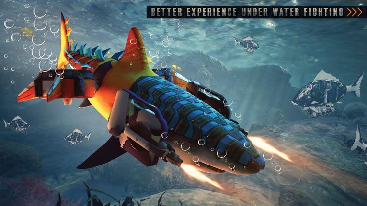 Killer Shark Robot Transform screenshot-4
