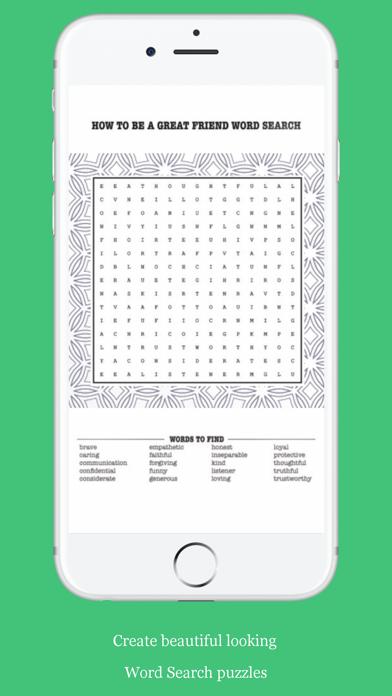 Word Search Puzzle Generator screenshot 3
