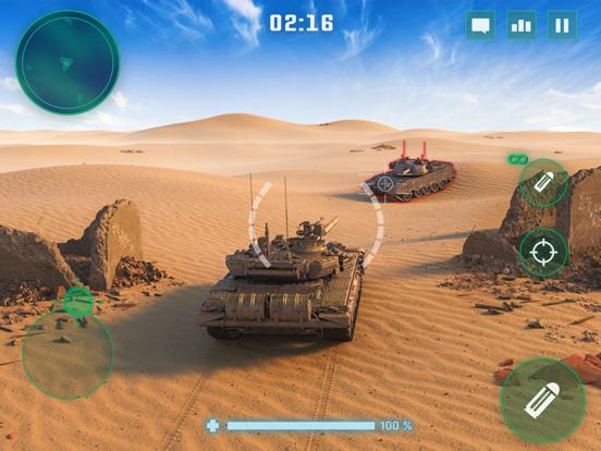 War Machines: Tank Skjutspel iPad app afbeelding 2