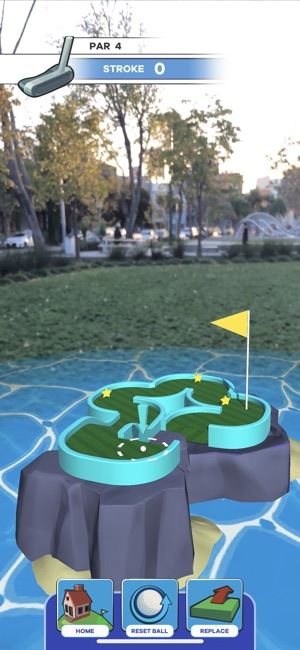 Putt Putt World - AR Mini Golf Screenshot