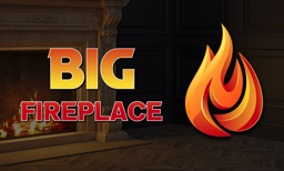 BIG Fireplace: Video Wallpaper