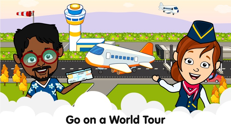 Tizi Town – My Airplane Games screenshot-0