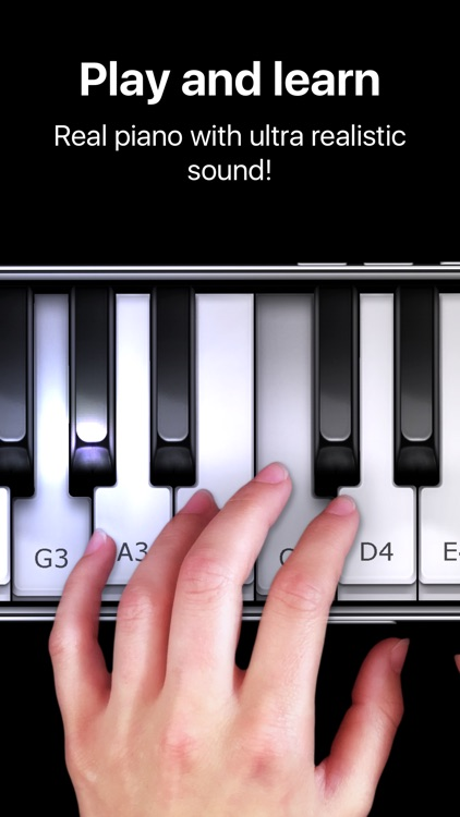 Piano - simply game keyboard screenshot-0