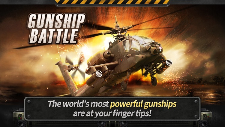 GUNSHIP BATTLE: 3D Action screenshot-0