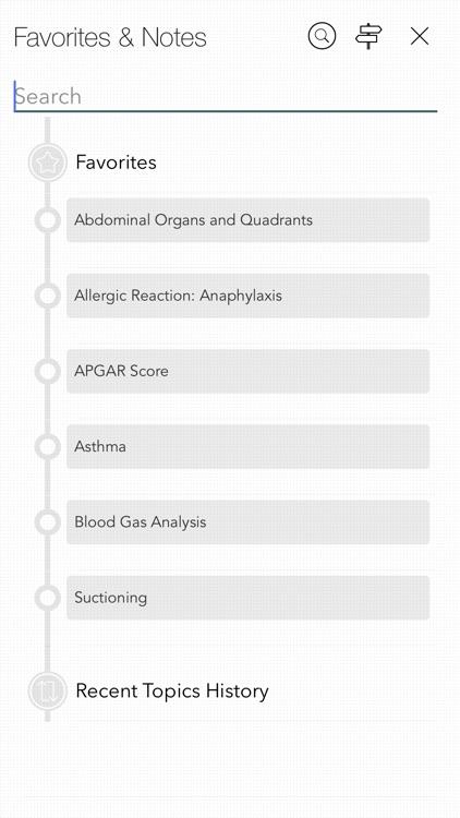 RNotes: Nurse's Pocket Guide screenshot-5