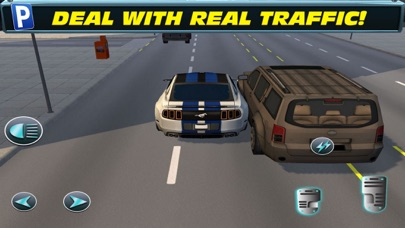 Fast Car Racing: Highway Sim screenshot 3