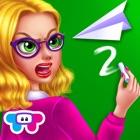 Insegnante arrabbiata icon