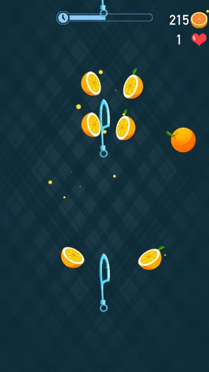 Knife Dash: Hit To Crush Pizza screenshot-3
