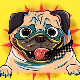 Happy Puppy Emojis
