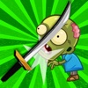 Ninja Kid Sword Flip Challenge Tenbillionapps.com