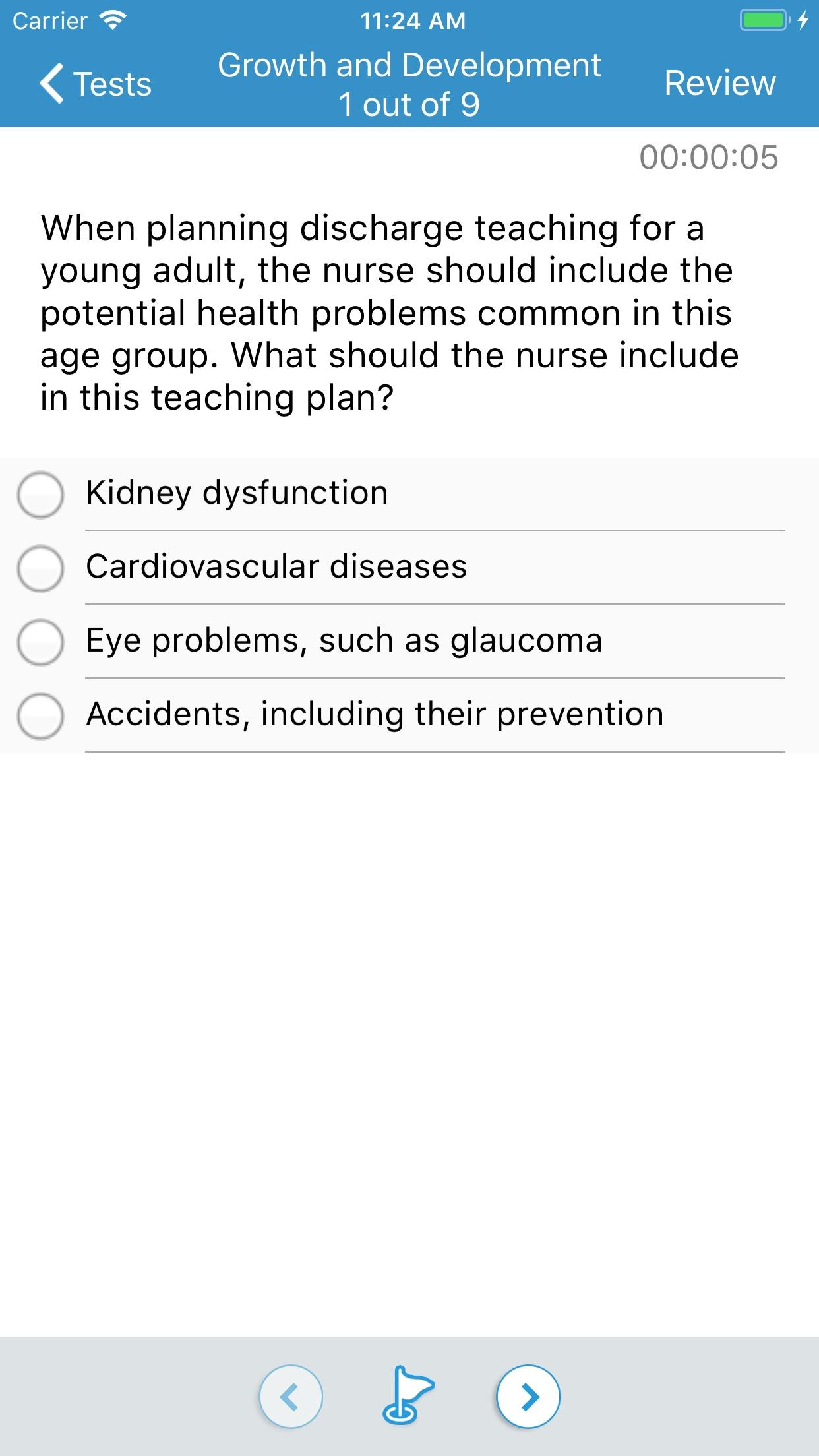NCLEX-RN Mosby's ExamPrep 2018 Screenshot