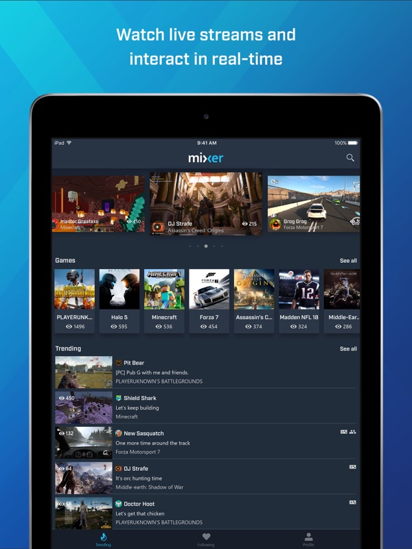 Mixer - Interactive Streaming - Tips for Android & iOS Game
