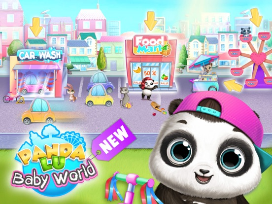 Panda Lu Baby Bear World screenshot 16