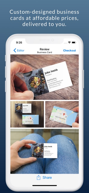 Business card maker logo app on the app store business card maker logo app on the app store colourmoves