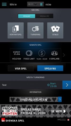 Poker Svenska Spel Mobilen