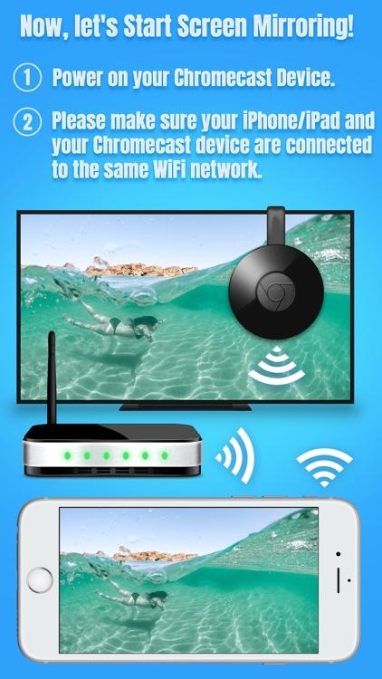 Air Mirror for Chromecast TV screenshot-3