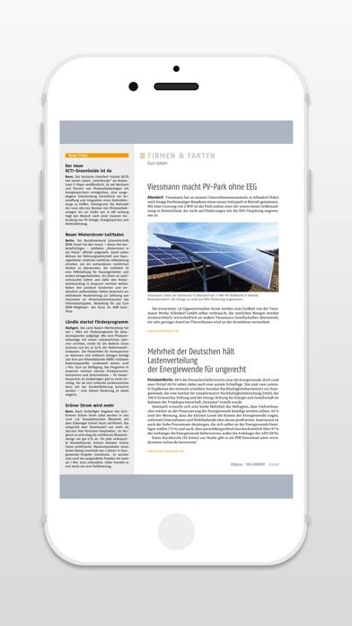 IKZ Energy - ZeitschriftScreenshot von 4