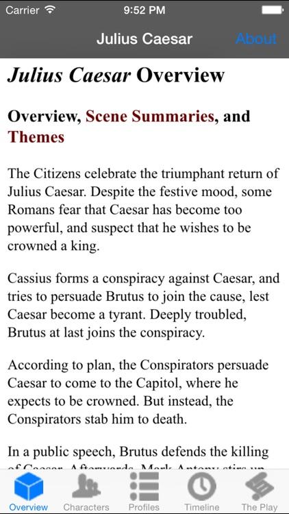 Julius Caesar Full Audio screenshot-4