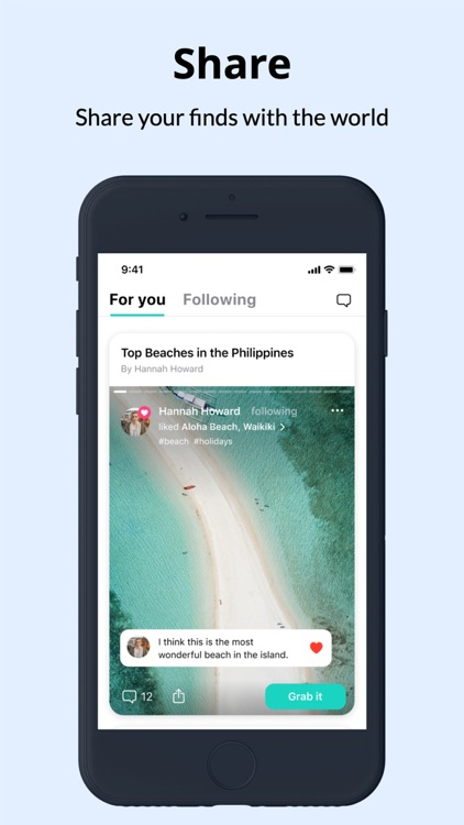 Grabbd- Social Foodie & Travel screenshot-4