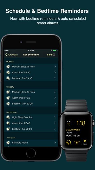 AutoWake. Smart Sleep Alarm app image