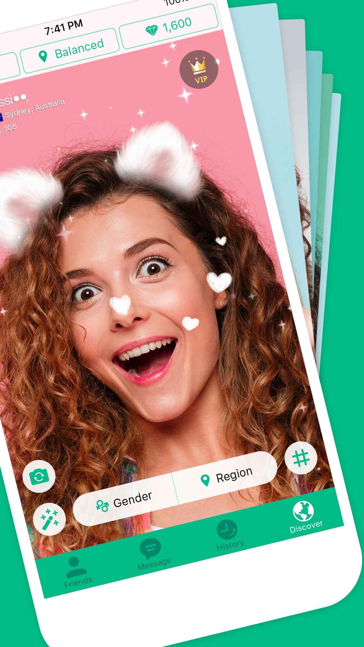 Azar - Video Chat, Discover Screenshot