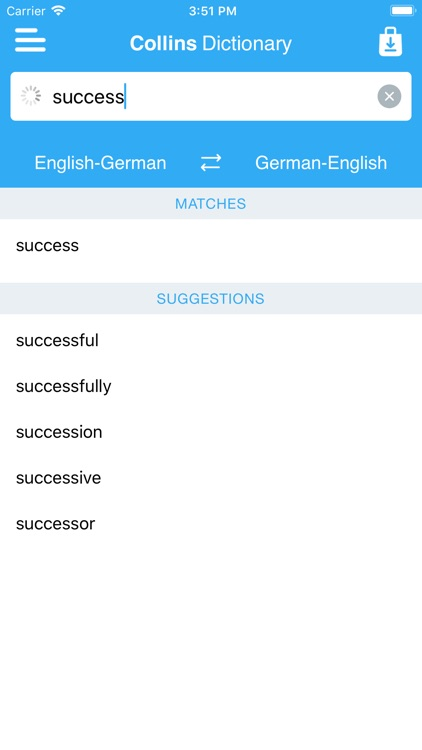 Collins German Dictionary screenshot-3