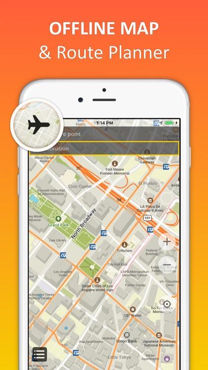 Los Angeles offline map & nav