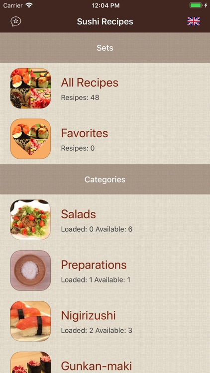 Sushi Recipes Cookbook screenshot-3