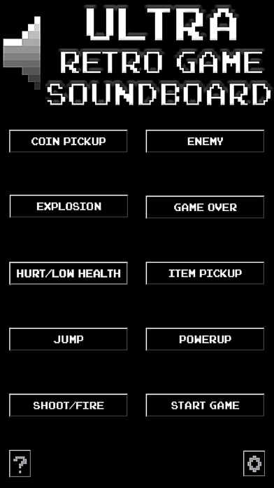 Ultra Retro Game Soundboard screenshot one