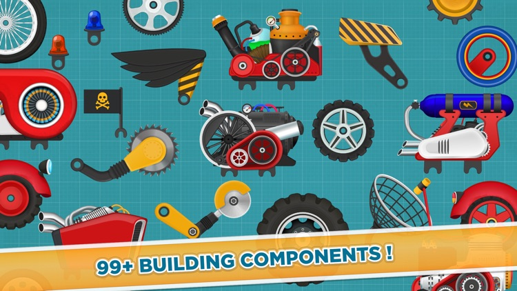 Racing Car Game for Kids 3 - 6 screenshot-3