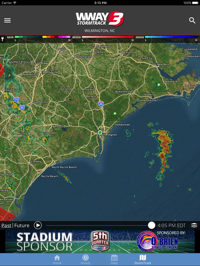 WWAY TV3 StormTrack 3 Weather on