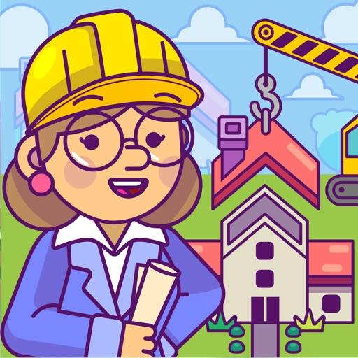 Puzzle Town Baue und spiele