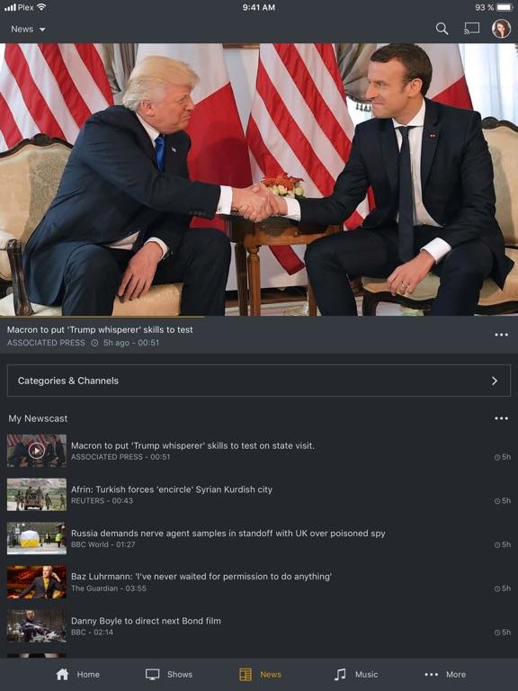 Plex Screenshots