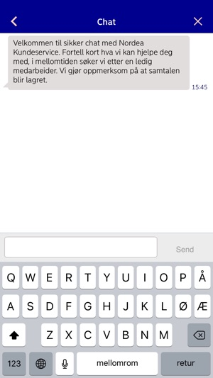 Nordea Mobilbank Norge Im App Store