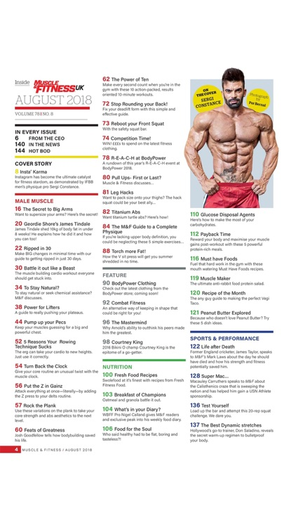 Muscle & Fitness UK Magazine