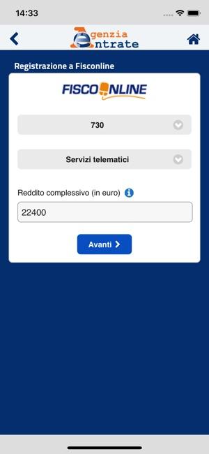 AgenziaEntrate Screenshot